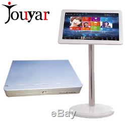 Four cores Chinese English 2T HDD 19inch touch screen Karaoke machine System