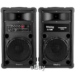 Frisby FS-4200 Bluetooth Amplified Speaker System Party Machine with USB SD Remote