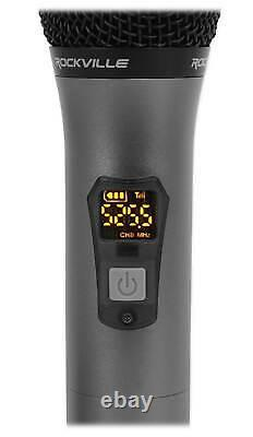 JBL Partybox 310 Rechargeable Bluetooth LED Karaoke Machine System withMics+Stand