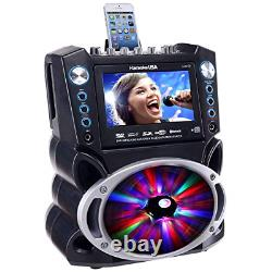 Karaoke GF842 DVD/CDG/MP3G Karaoke System with 7 TFT Color Screen, Record, and