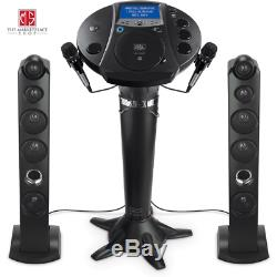Karaoke Machine System Bluetooth Singing System Microphone Speaker LED Lights