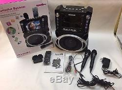 Karaoke Machine System Microphone 7 TFT Digital Color Screen Record Function
