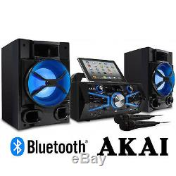 Karaoke Machine System Singing Bluetooth System LCD Microphone Light All In One