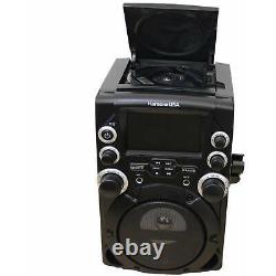 Karaoke System with 4.3 Color TFT Screen Top-load CD+G player