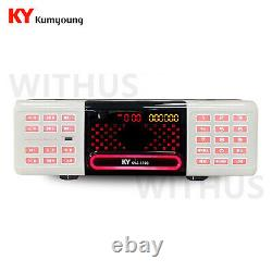 KumYoung KMS-S700W Karaoke Machine System 128GB Remote Control + Song Book