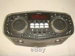 Lg Rk8 Portable Karaoke Dj Boombox System Party Machine As-is