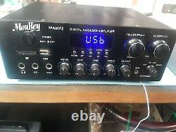 Moukey MAMP1 Professional karaoke amplifier power system output 220W