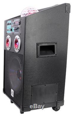 NYC Acoustics 10 Bluetooth Karaoke Machine/System 4 ipad/iphone/Android/Tablet