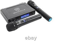 NYC Acoustics X-Tower Bluetooth Karaoke Machine System withLED's+(2) Wireless Mics