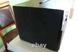 RSQ ECHOPRO Portable Karaoke System with CDG player tested works great