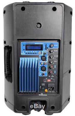 Rockville 10 Karaoke Machine System withLED Stand+Bluetooth+Dual Wireless Mics