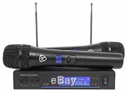 Rockville 12 Powered Karaoke Machine/System withLED's+(2) Wireless Microphones