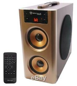 Rockville ANYWHERE KARAOKE Machine System withCompact Speaker+Bluetooth+(2) Mics