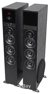 Rockville All-in-one Bluetooth Home Theater/Karaoke Machine System with(2) Mics