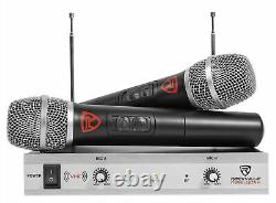 Rockville Powered 12 iphone/ipad/Android/Laptop/T. V. Karaoke Machine/System