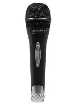 Rockville Pro Dual 10 ipad/iphone/Laptop/Android/Tablet Karaoke Machine/System