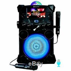 Singing Machine Fiesta Voice Portable Karaoke System NO TAX Lights, color LCD
