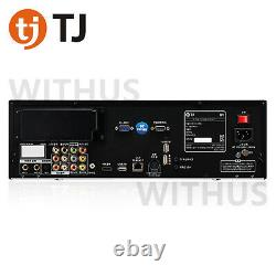 TJ Media B1 Karaoke Machine System 1TB + Wired Microphone + Remote + Song Book
