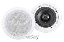 Technical Pro 1500 Watt Home Karaoke Machine System+(2) 6.5 Ceiling Speakers